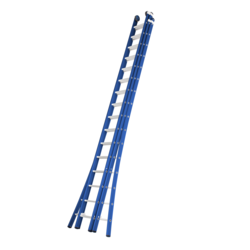 Echelle 3 plans 3x16 échelons Das Ladders Atlas blue