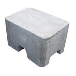 Contrepoids protection antichute toit plat