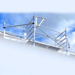 Solar scaffold system