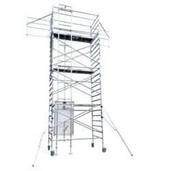 Scaffold lift - Solar lift werkhoogte 8,20 m