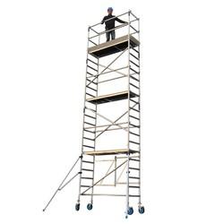Echafaudage pliant A-line hauteur de travail 8 m