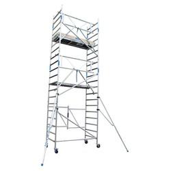 Kamersteiger 90x190 voorloopleuning werkhoogte 6,50 m