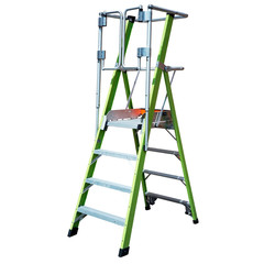 Little Giant Safety Cage GVK trapladder 8 treden