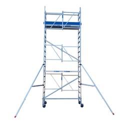 Echafaudage pliant A-Line hauteur de travail 6,50 m