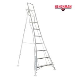 Henchman tripod ladder 300 cm met platform en 3 verstelbare benen