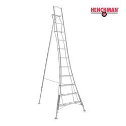 Henchman echelle trépied 360 cm avec plate-forme et 3 pieds réglables