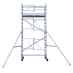 Echafaudage pliant A-Line hauteur de travail 5,50 m