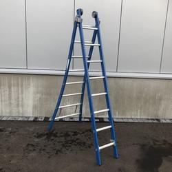 ASC Premium ladder uitgebogen 2x8 sporten