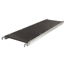 Alumexx Basic Line platform 190 cm zonder luik