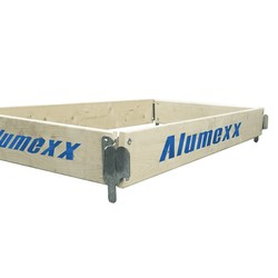 Alumexx Basic Line échafaudage jeu de plinthes en bois