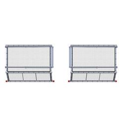 SafeGuard protection de bord de toit pour toits en pente