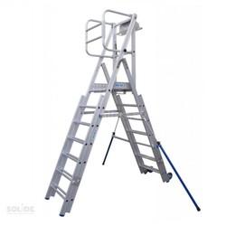 Plate-forme de travail télescopique Solide PIR 7-10 marches