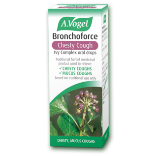 Bioforce Uk Bronchoforce Chesty Cough Ivy Complex Oral Drops