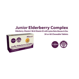 Bionutri Bionutri Junior Elderberry Complex 60 Chewable Tablets