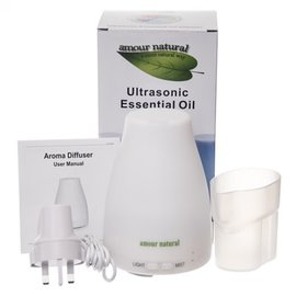 Amour Natural Electric Diffuser, White