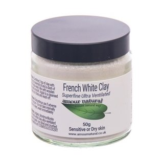 Amour Natural Clay, White 50g