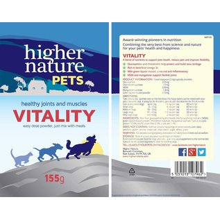 Higher Nature Pets Vitality 155g