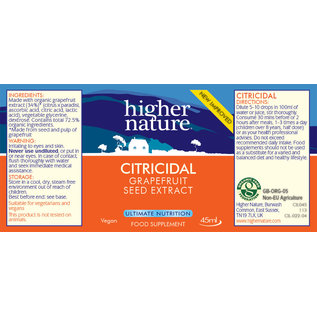 Higher Nature Citricidal 45ml