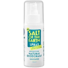 Bioforce Uk Salt Of The Earth Deodorant Spray, 100ml
