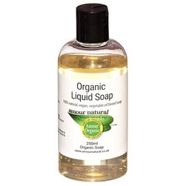 Amour Natural Liquid Soap Made With Organic Ingredients 250ml