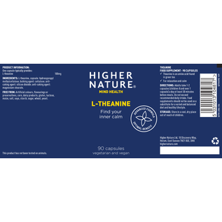 Higher Nature Higher Nature L - Theanine (90)
