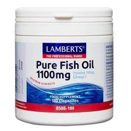 Lamberts Pure Fish Oil  1100mg 180 Capsules (Epa 360mg/Dha 240mg)