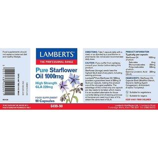 Lamberts Pure Starflower Oil  1000mg 90 Capsules