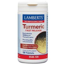 Lamberts Turmeric 10,000mg (Providing 95% Curcumins) 60 Tablets