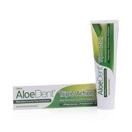 Aloe Dent Aloe Vera Triple Action Toothpaste & CoQ10 (Fluoride Free) 100ml