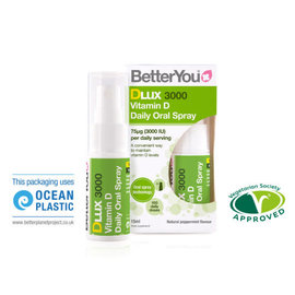 Better You BetterYou Dlux 3000 Daily Vitamin D Oral Spray [15ml]