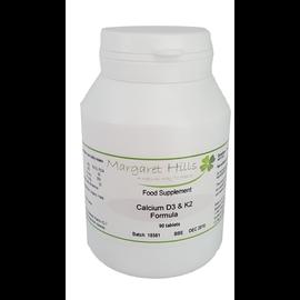 Margaret Hills Margaret Hills Calcium, D3 & K2 Formula 180 tabs