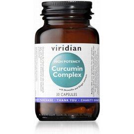 Viridian High Potency Curcumin Complex Veg Capsules (30)