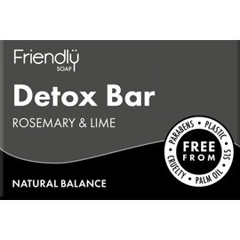 Friendly Soap Friendly Soap Detox Baractivated Charcoal