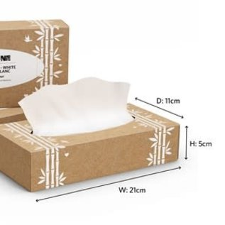 Greencane Greencane Paper 2Ply Facial Tissues [Single]