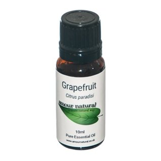Amour Natural Amour Natural Essential Oils Grapefruit 10ml Not Organic