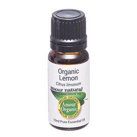 Amour Natural Amour Natural Essential Oils Lemon 10ml Organic