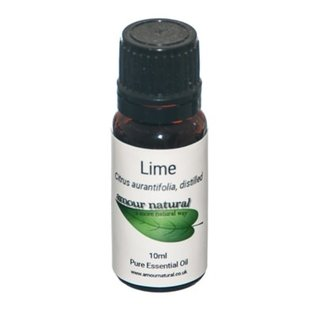 Amour Natural Amour Natural Essential Oils Lime 10ml Not Organic