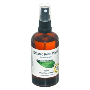Amour Natural Amour Natural Essential Oils Rose Flower Water 100ml Organic
