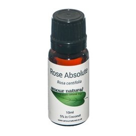Amour Natural Amour Natural Essential Oils Rose Absolute 5% 10ml Not Organic