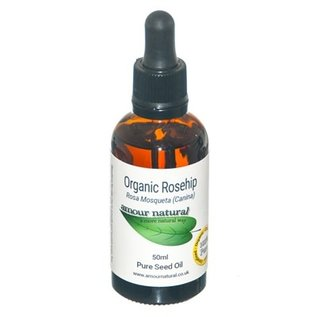 Amour Natural Amour Natural Essential Oils Rosehip Seed 50ml Organic