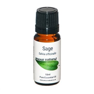 Amour Natural Amour Natural Essential Oils Sage 10ml Not Organic