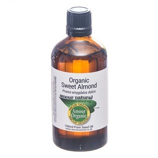 Amour Natural Amour Natural Essential Oils Sweet Almond Oil 100ml Organic