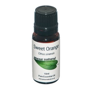 Amour Natural Amour Natural Essential Oils Sweet Orange 10ml Not Organic