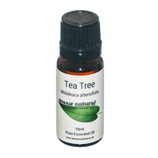 Amour Natural Amour Natural Essential Oils Tea Tree 10ml Not Organic