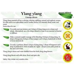 Amour Natural Amour Natural Essential Oils Ylang Ylang 10ml Not Organic