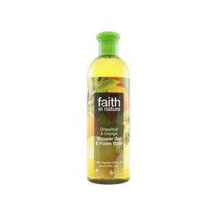 Faith In Nature Faith In Nature Foam Bath Grapefruit & Orange 400ml