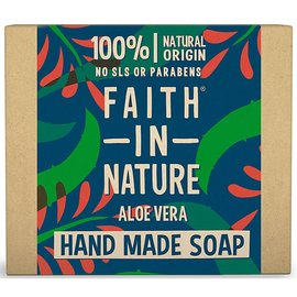 Faith In Nature Faith In Nature Soap Aloe Vera (with ylang ylang & patchouli) 100g