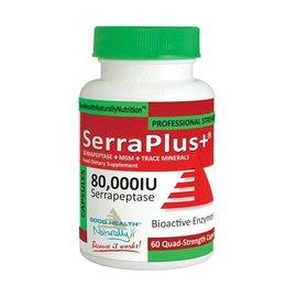 Good Health Naturally Serraplus+ 80,000IU 60's (Capsules)