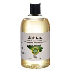 Amour Natural Liquid Soap Made With Organic Ingredients 500ml
