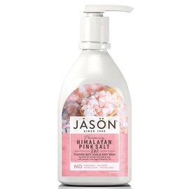 JASON Himalayan Pink Salt 2 in 1 foaming bath soak & body wash 887 ml